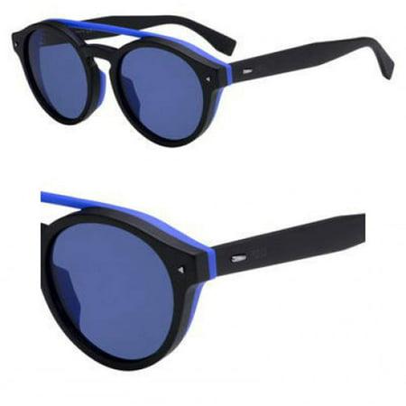 Sunglasses Fendi Men Ff M 17 /F/S 0807 Black / KU blue avio lens
