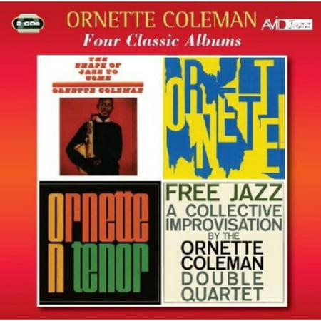 4 Classic Albums (Ornette Coleman Best Albums)