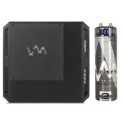 VM Audio ECD1200.1 Encore 1200W 1 Ohm Class D Digital Amp + 2.0 Farad Capacitor