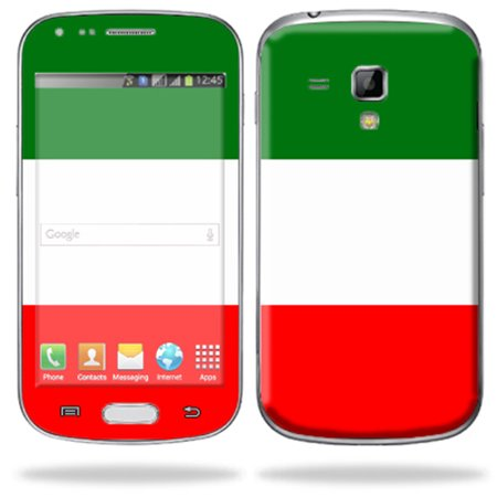 Mightyskins Protective Skin Decal Cover for Samsung Galaxy S Duos S7562 Cell Phone wrap sticker skins Italian
