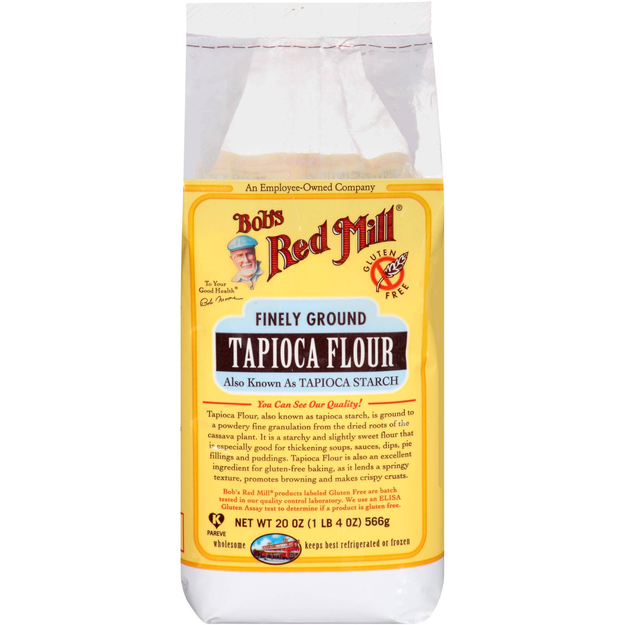 Bobâ€s Red Mill Finely Ground Tapioca Flour, 20 oz by Bob'S Red Mill