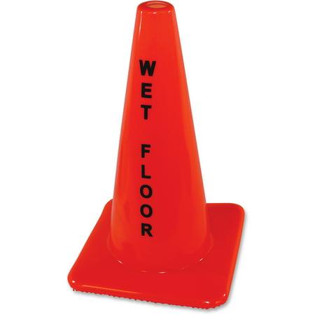 - Impact Products, IMP9100, Wet Floor Orange Safety Cone, 1 Each, Orange