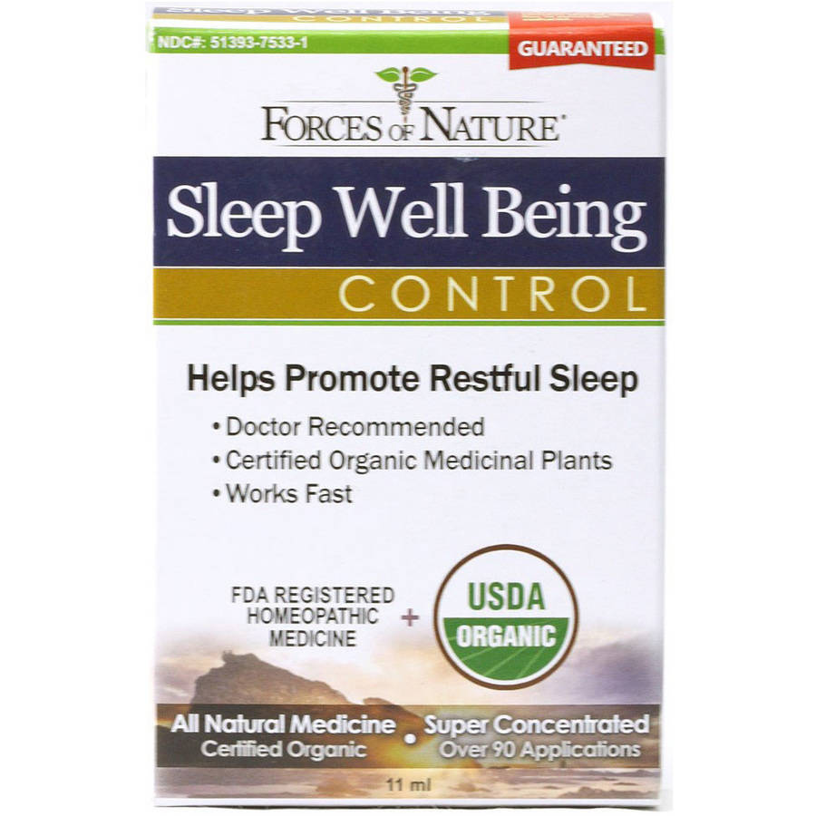 Forces of Nature Sleep Well Being Control, 11 ML