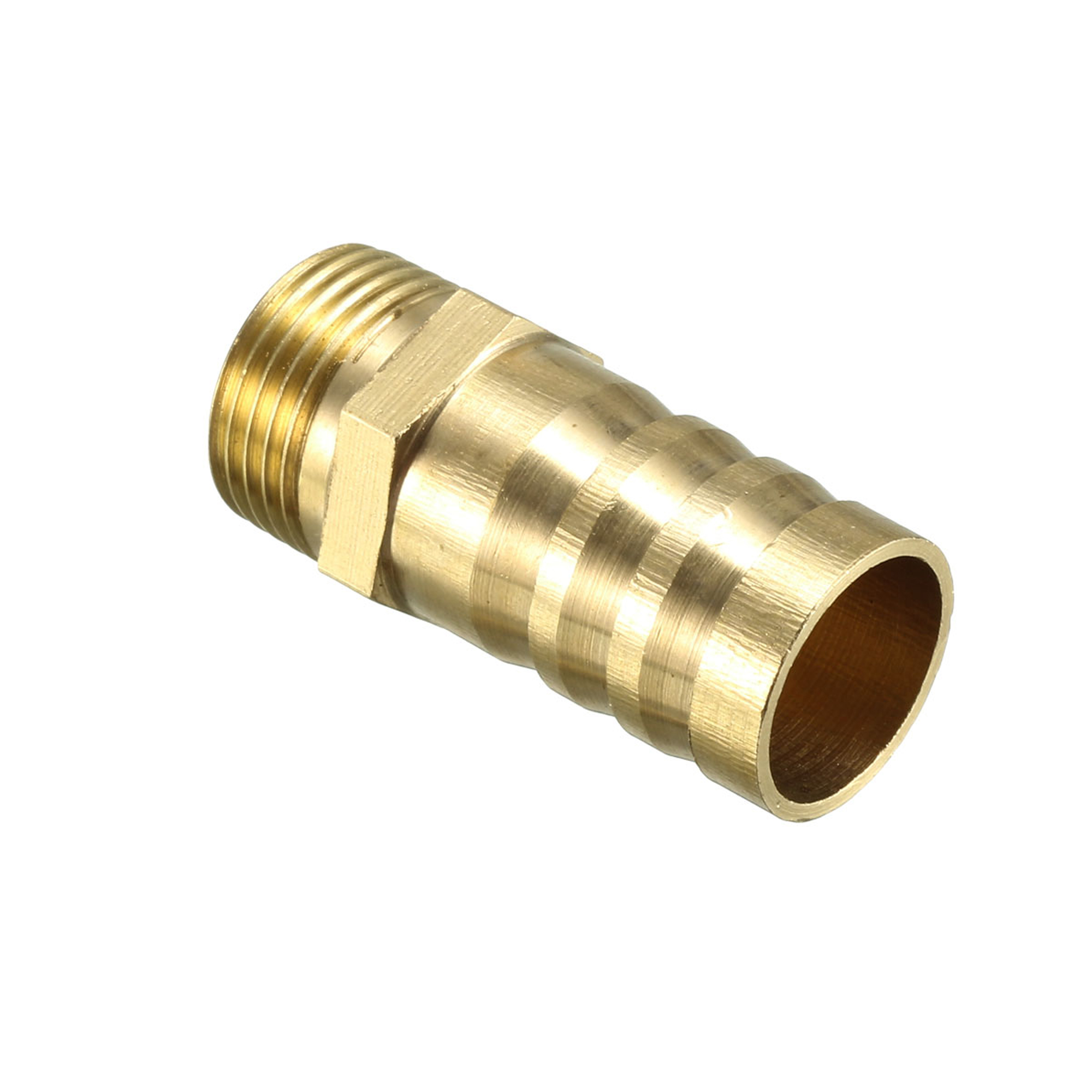 1//8PT Male Thread to 9mm Barb Hose Brass Coupler Adapter