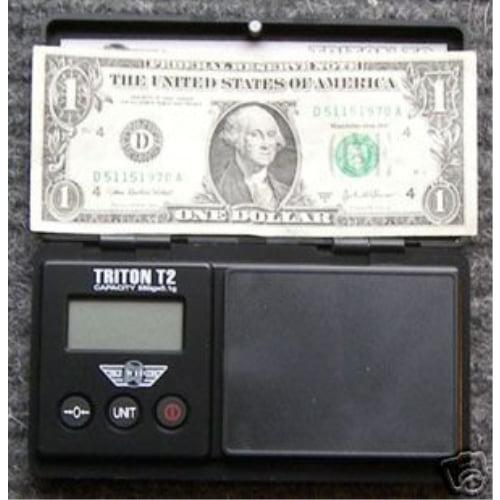 My Weigh Triton T2 550 Gram Digital Pocket Jewelry Scale - SCMT550