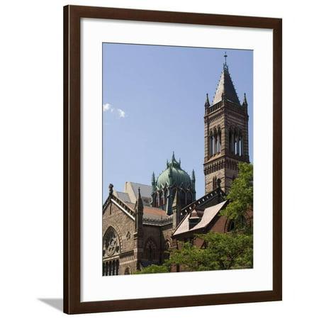 The New Old South Church, Copley Square, Back Bay, Boston, Massachusetts, USA Framed Print Wall Art By Amanda Hall