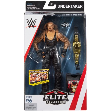 Undertaker - WWE Elite 55 Toy Wrestling Action - Undertaker Toys