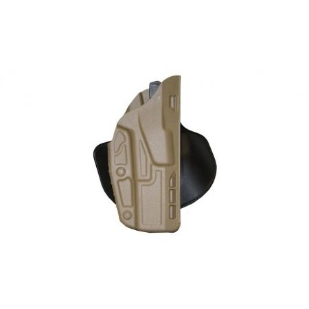 Safariland 7378 7TS ALS Paddle & Belt Loop Concealment Holster, Glock 19 X300,