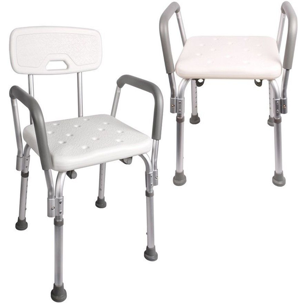 ktaxon medical shower chair bath seat bathtub bench with adjustable legs u0026 back support