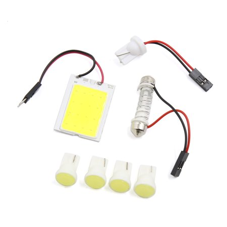 5pcs Universal COB T10  Light Roof  Bulb Panel Auto Car Internal Lamps Kit Internal Retail Kit