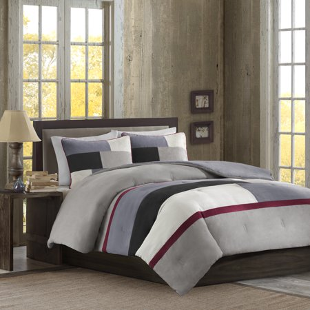 Venice Queen Comforter Set (Better Homes & Gardens Full or Queen Microsuede Comforter Mini Set, 3 Piece )