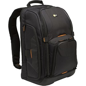 "Case Logic SLR Camera Notebook Backpack 17"" x 12.5"" x 8"" Nylon Black by Case Logic%2C Inc."