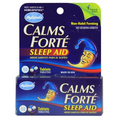 Calms Forte Hylands 50 Tabs