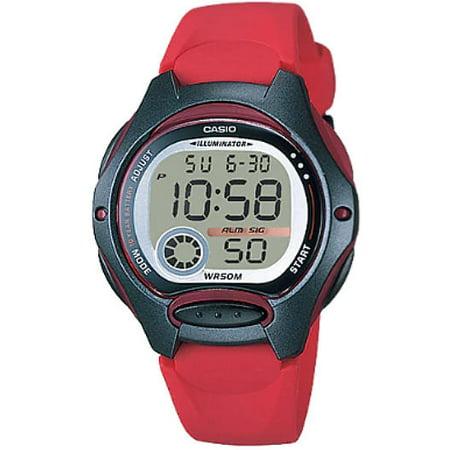 Women's Core LW200-4AV Red Resin Quartz Watch ()