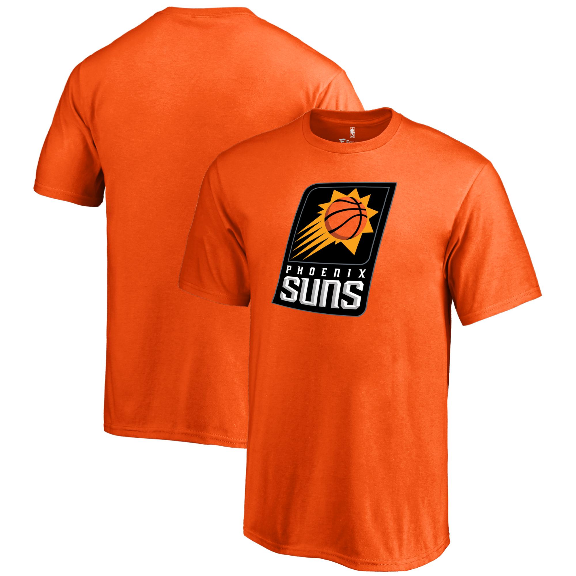 Phoenix Suns Fanatics Branded Youth Primary Logo T-Shirt - Orange