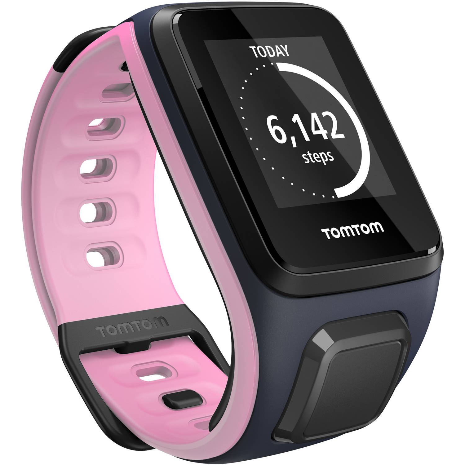 TomTom Spark Activity Tracker, Small, Sky Captain/Pink