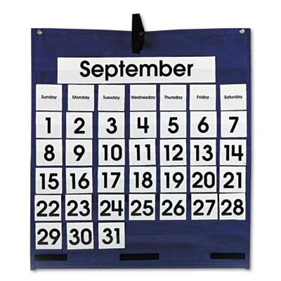 Carson-Dellosa Publishing Monthly Calendar Pocket Chart for $<!---->