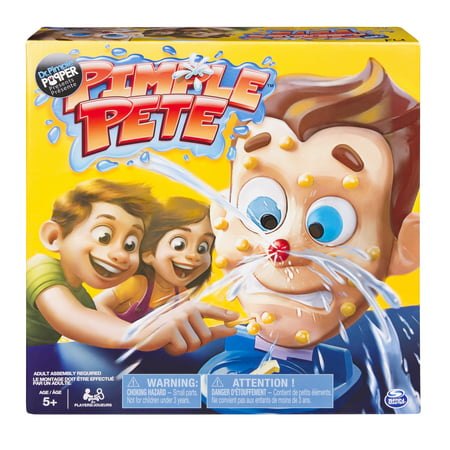 Pimple Pete Game Presented by Dr. Pimple Popper, Explosive Family Game for Kids Aged 5 and Up (Games For Family Night)