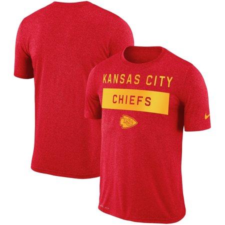 Kansas City Chiefs Nike Sideline Legend Lift Performance T-Shirt - Red