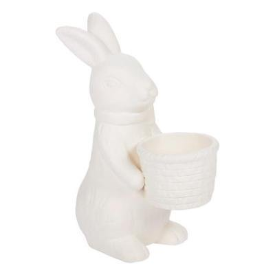 IN-13804105 DIY Ceramic Bunnies with Basket 1 Set(s) for $<!---->