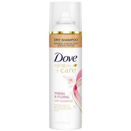 Dove Refresh+Care Fresh & Floral Dry Shampoo, 5