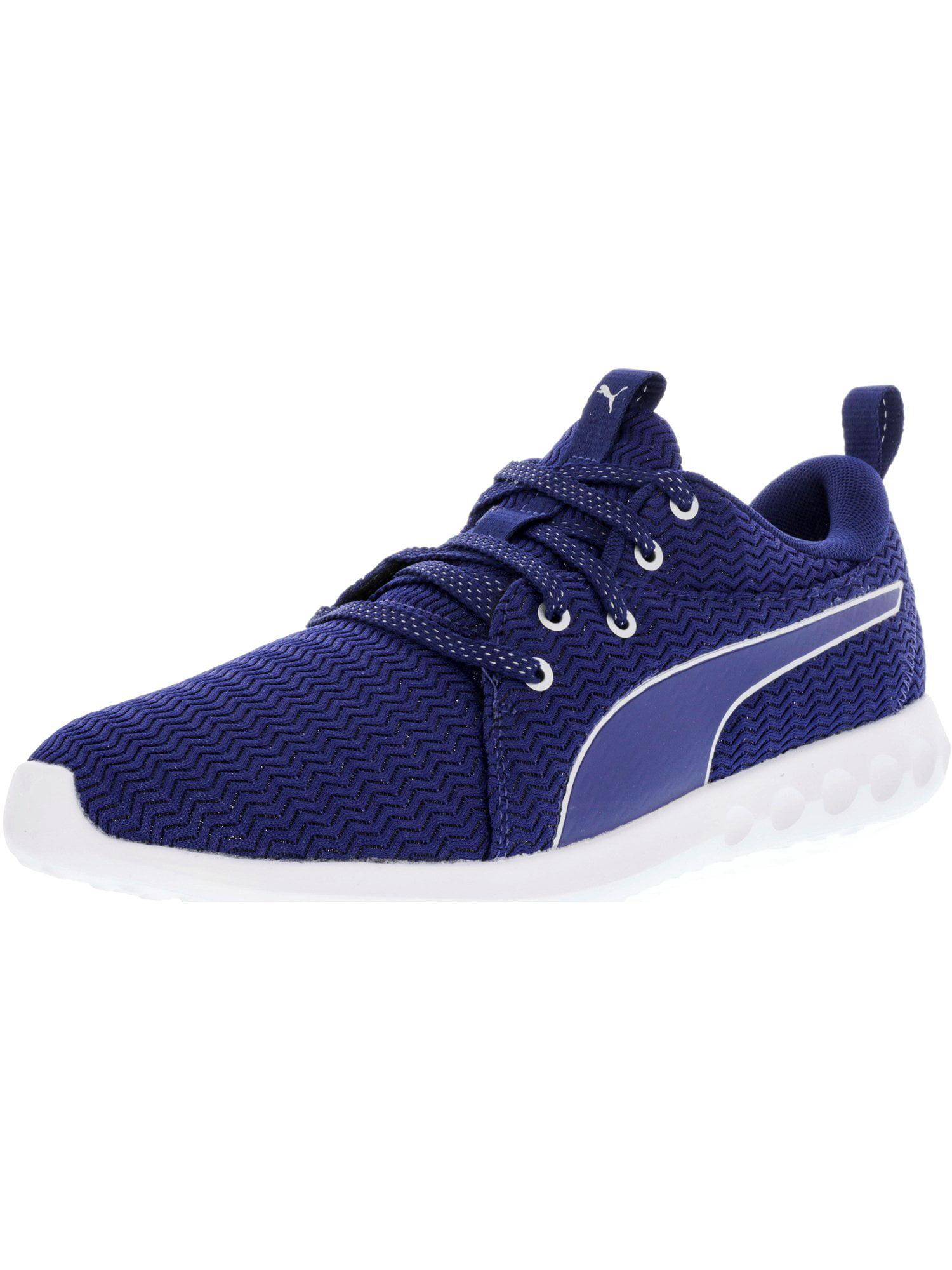 Puma Women's Carson 2 Metallic Blue Depths / Silver Ankle-High Running Shoe - 7M