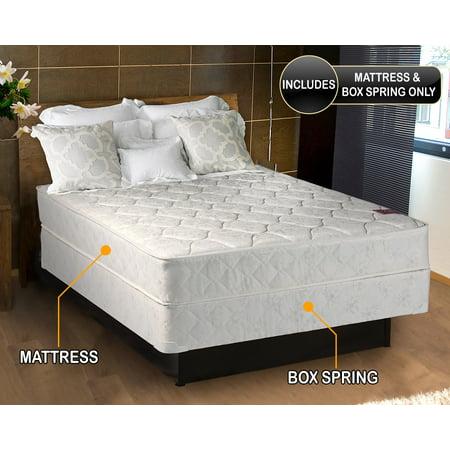 Top Full Set (Natures Dream Plush Eurotop (Pillow Top) Full Size (54