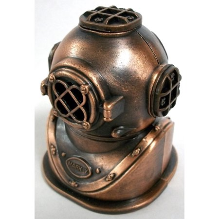 Deep Sea Divers Helmet Die Cast Metal Collectible Pencil Sharpener for $<!---->