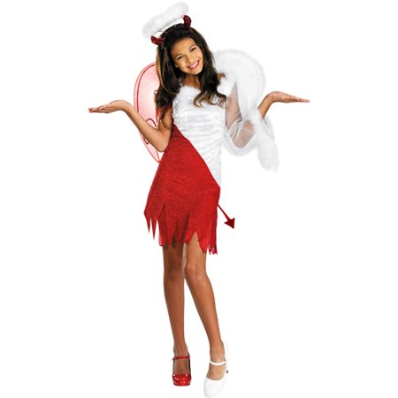Devil Outfit Ideas For Halloween (Girl's Heavenly Devil Halloween)