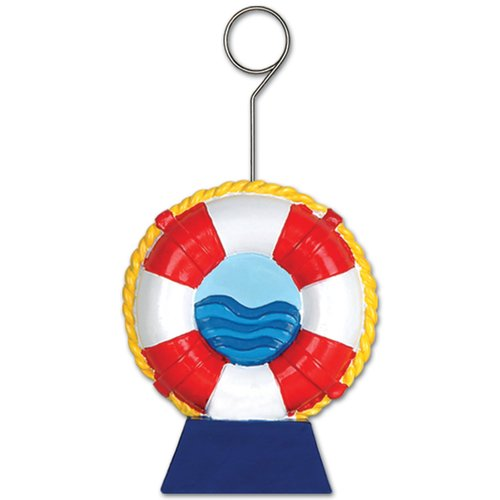 The Beistle Company Life Preserver Photo/Balloon Holder