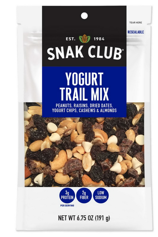 (Price/CASE)Snak Club 1721455 Century Snacks Yogurt Nut Mix 6.75 ounce - 6 Per Case