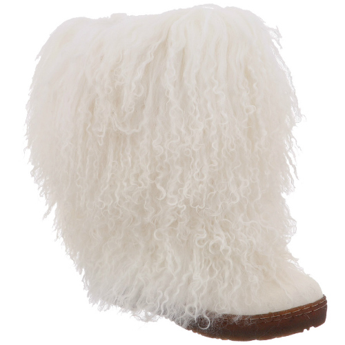 """Bearpaw Boetis II White 8 Womens Boetis II"" by Bearpaw"