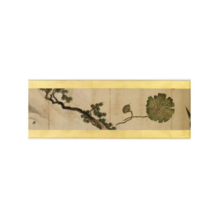 Detail of Handscroll with Miscellaneous Images, Edo Period, 1839 Print Wall Art By Katsushika Hokusai (Miscellaneous Wall)