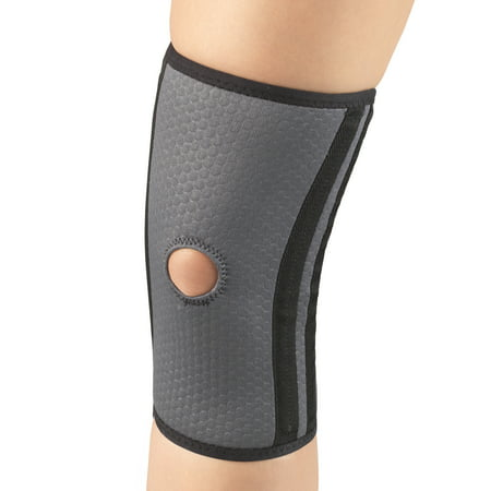 Champion Airmesh Knee Brace with Flexible Stays, Grey, Large
