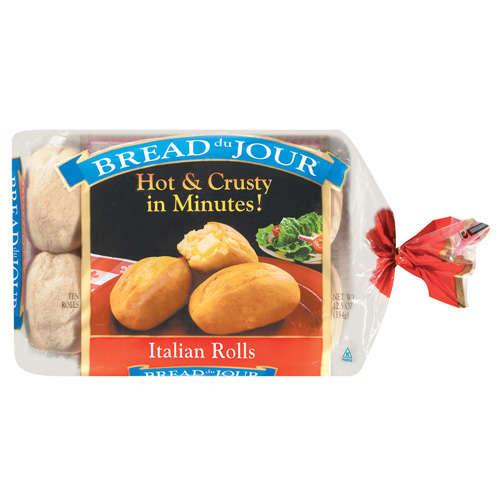 Bread Du Jour: Italian 10 Ct Rolls, 12.5 Oz