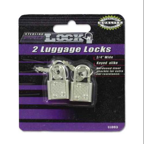 2 Pc Luggage Locks Set - Set of 24