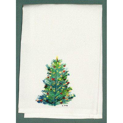 Christmas Tree Guest Towel