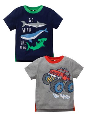 99f6871c0 Product Image Gerber Graduates Short Sleeve Graphic Tee, 2pk (Baby Boys and Toddler  Boys)