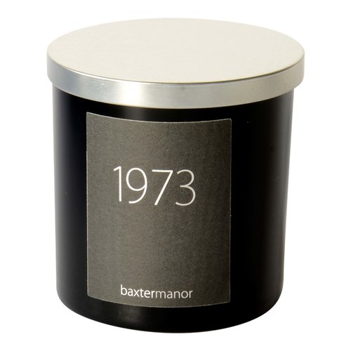 Baxter Manor #OurHistoryCollection 1973 Scented Designer Candle
