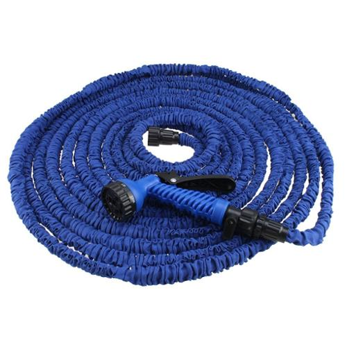 AGPtEK 100FT Expandable Garden Hose With Spray Nozzle for Gardening, Recreational Vehicles Pools Boats Washing cars
