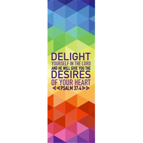 Victory Church Products 94397 Banner-Delight, 2 x 6 ft.  - Indoor