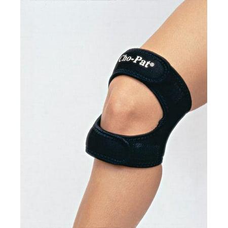 Medi dyne Cho-Pat Dual Action Knee Strap X-Large  18  - 20  Black Part No.CPDAK05