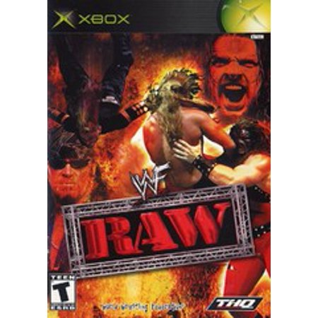 WWF Raw - Xbox (Refurbished) (Wwe Raw Xbox)