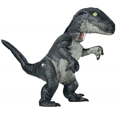 Funny College Halloween Costumes 2019 For Men (Jurassic World: Fallen Kingdom Mens Velociraptor Inflatable Halloween)