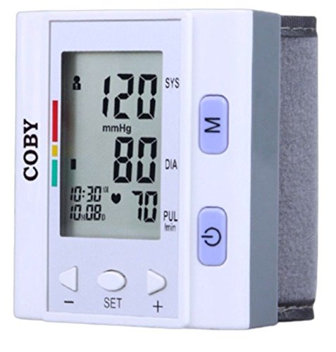 Coby Automatic Wrist Blood Pressure Monitor