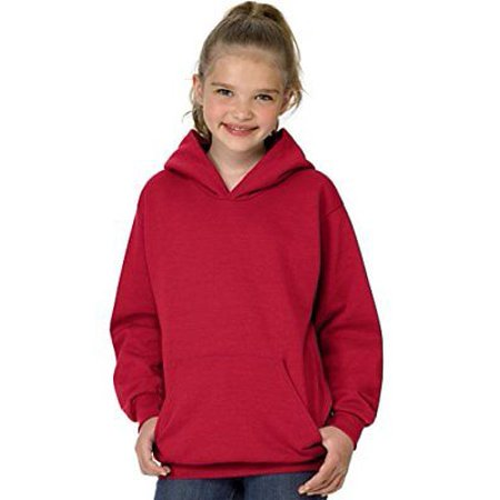 Hanes Youth ComfortBlend® EcoSmart® Pullover (Light Pink Youth Hoodie)