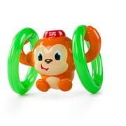 Bright Starts Roll & Glow Monkey Toy with Lights and Melodies, Ages 6 months +
