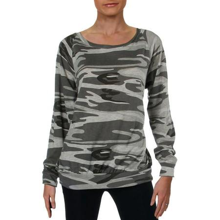 Alternative Apparel Womens Knit Pattern Casual Shirt