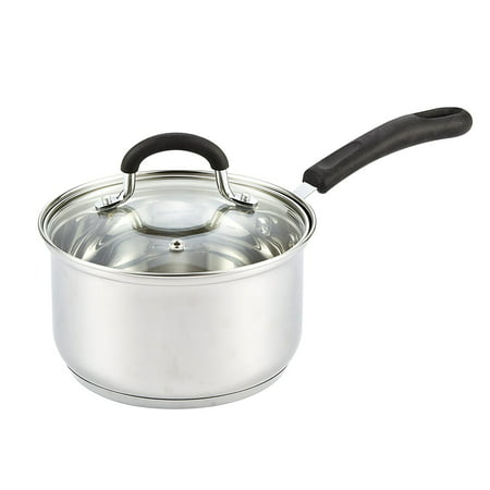 Cook N Home 2 Quart Stainless Steel Sauce Pan with Lid