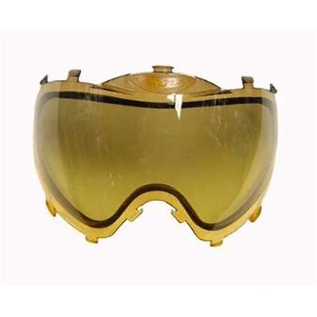 Dye I3 Replacement Thermal Lense For Paintball Mask / Goggles - HD Burnt Yellow